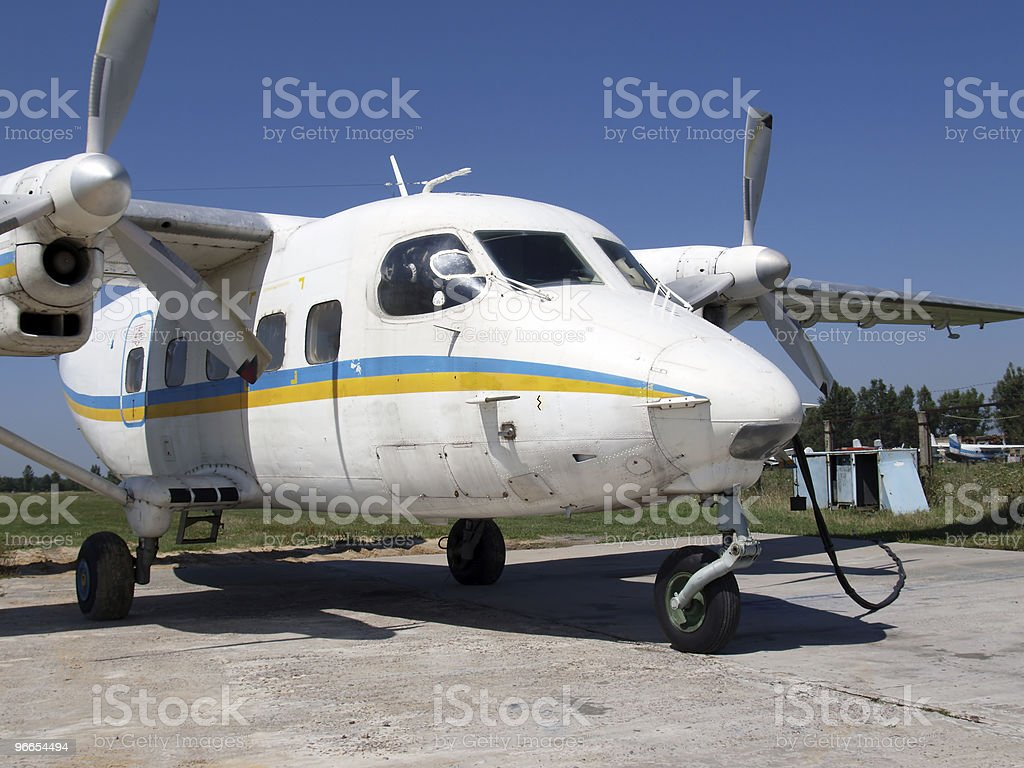 An-28 light cargo plane royalty-free stock photo