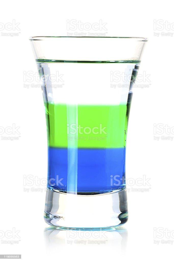 Anabolic alcohol cocktail stock photo