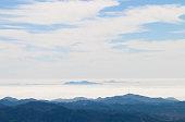 Anacapa Island in Mist