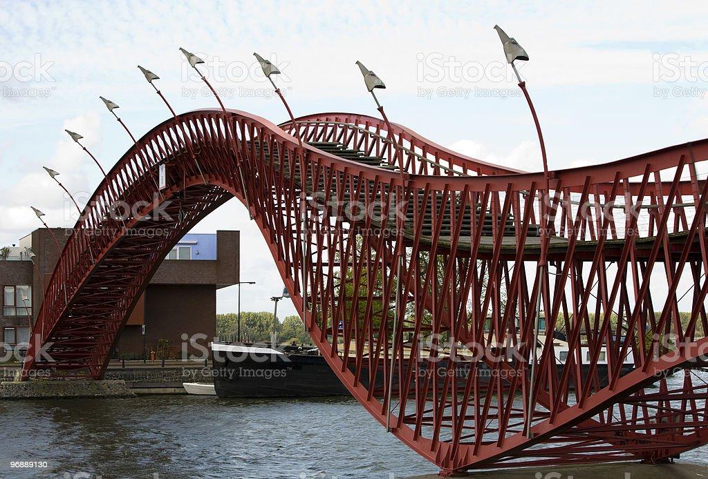 Anaconda bridge royalty-free stock photo