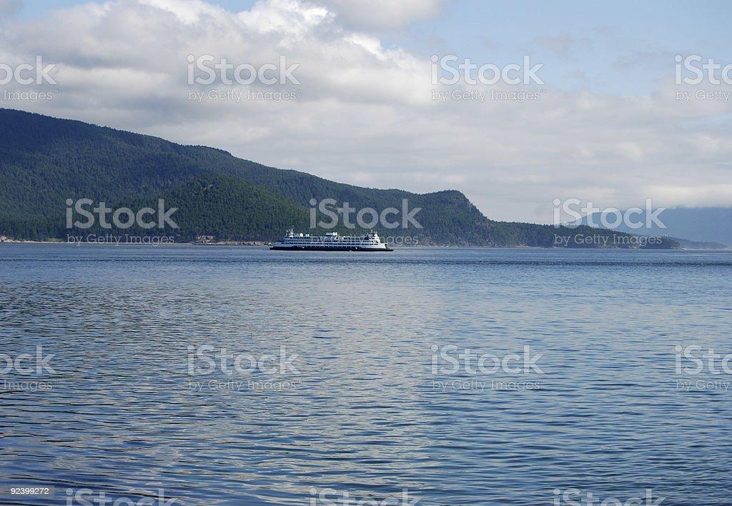 Anacortes Ferry stock photo