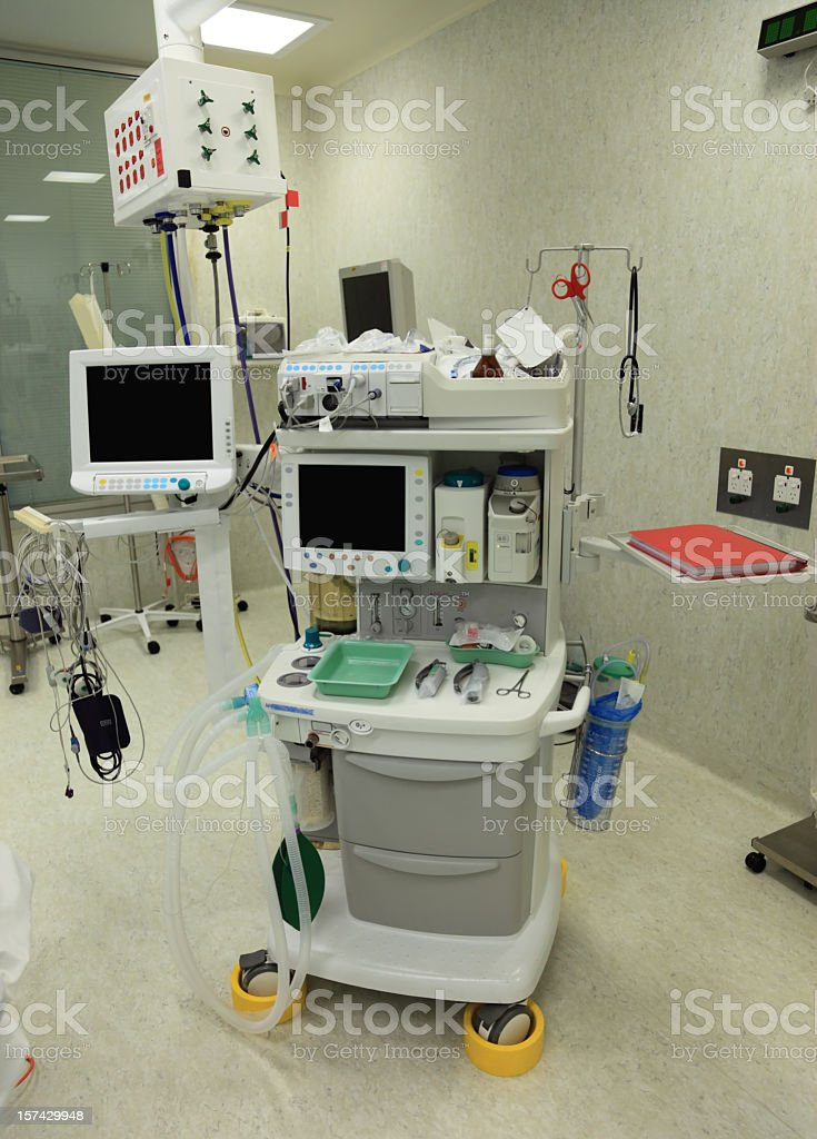 Anaesthetic Machine stock photo