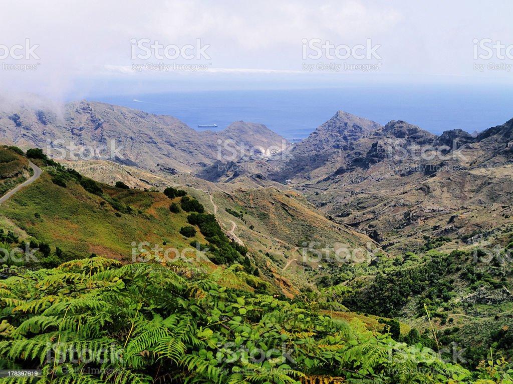 Anaga, Tenerife stock photo