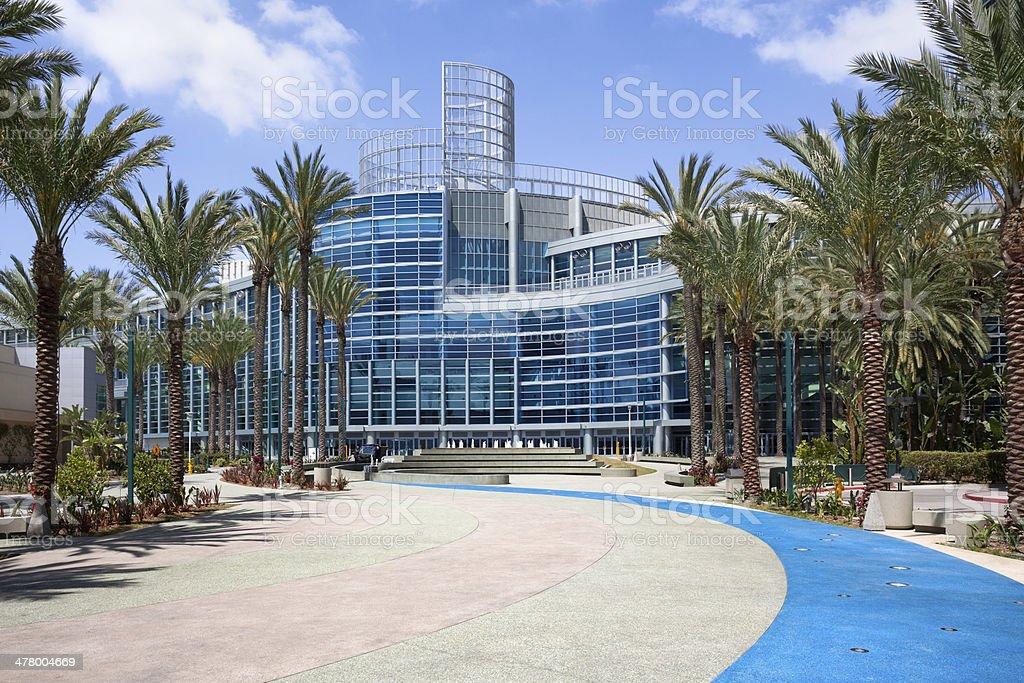Anaheim Convention Center stock photo