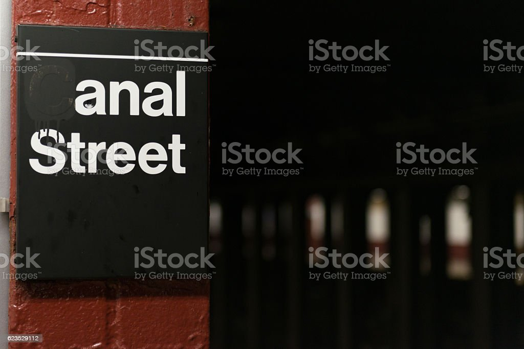Anal Street stock photo
