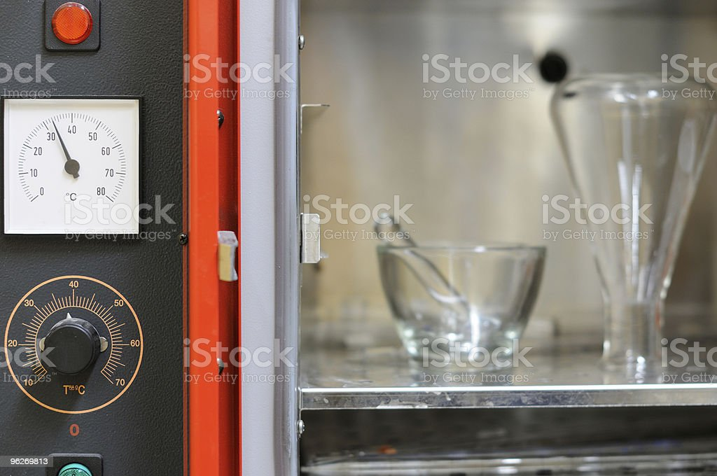 Analisys stove stock photo