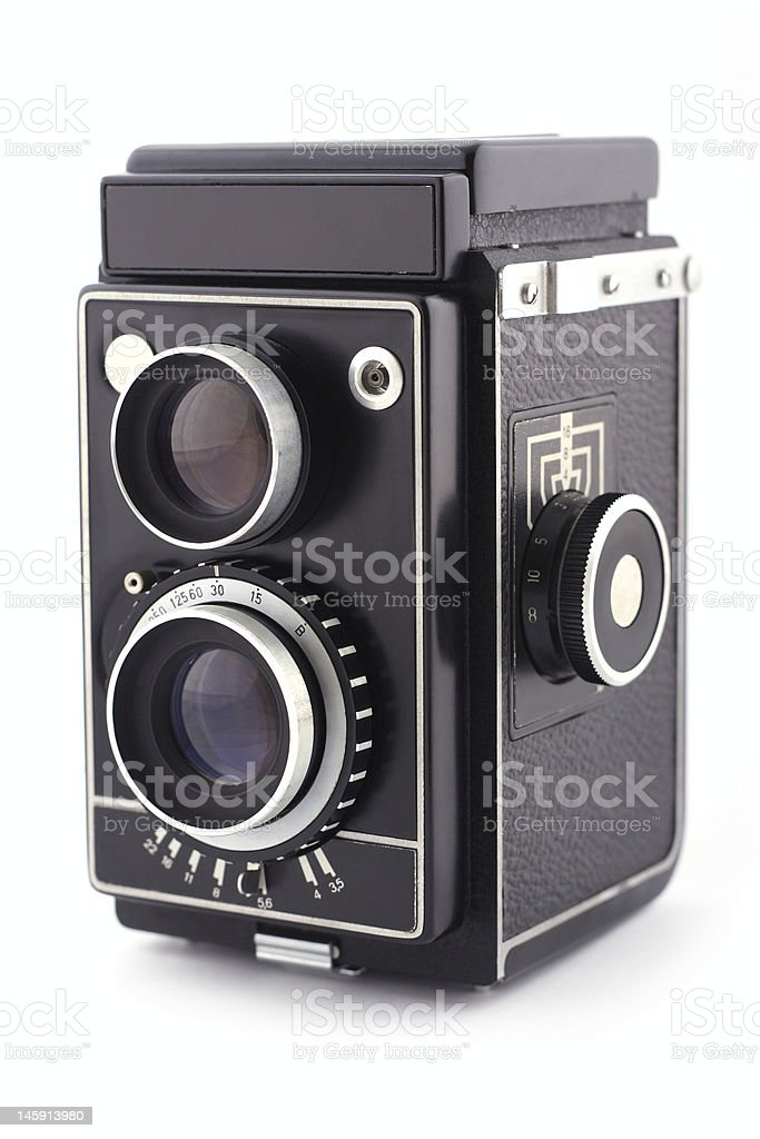 Analog camera royalty-free stock photo