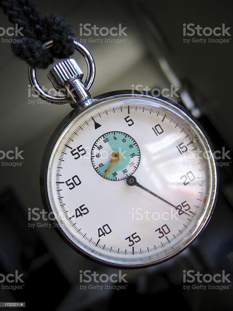 analog chronometer royalty-free stock photo