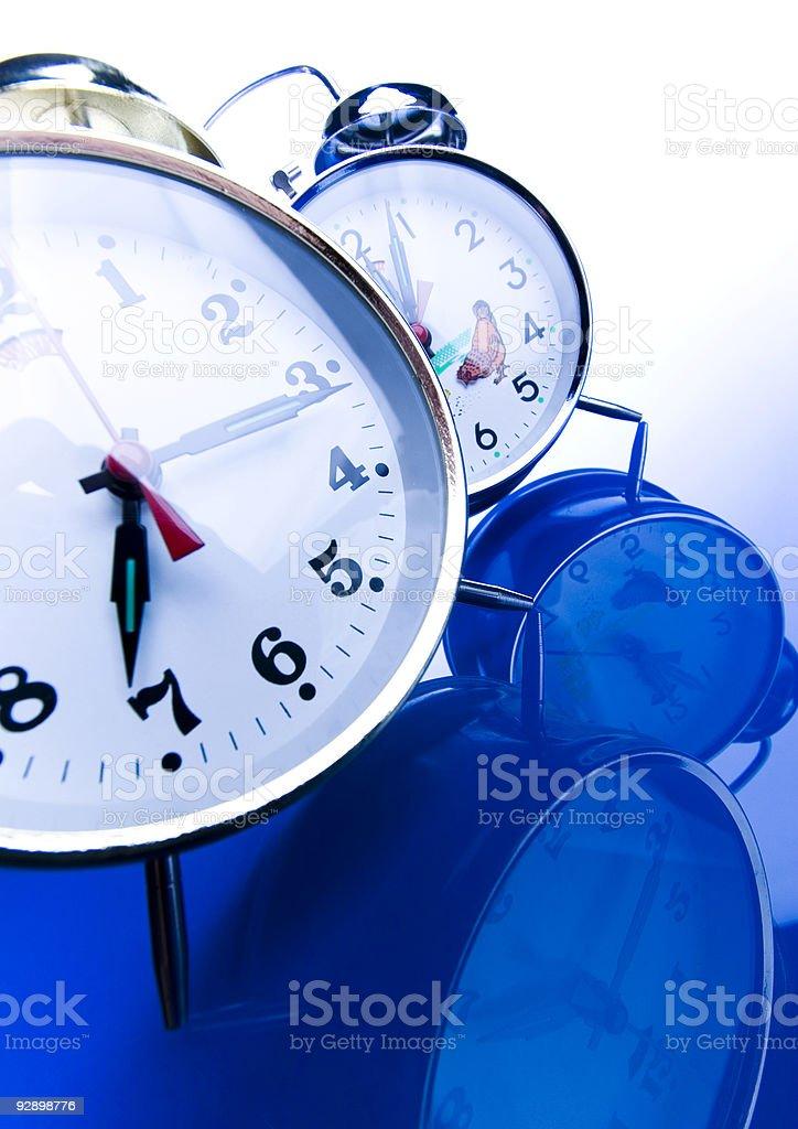 Analog clock royalty-free stock photo