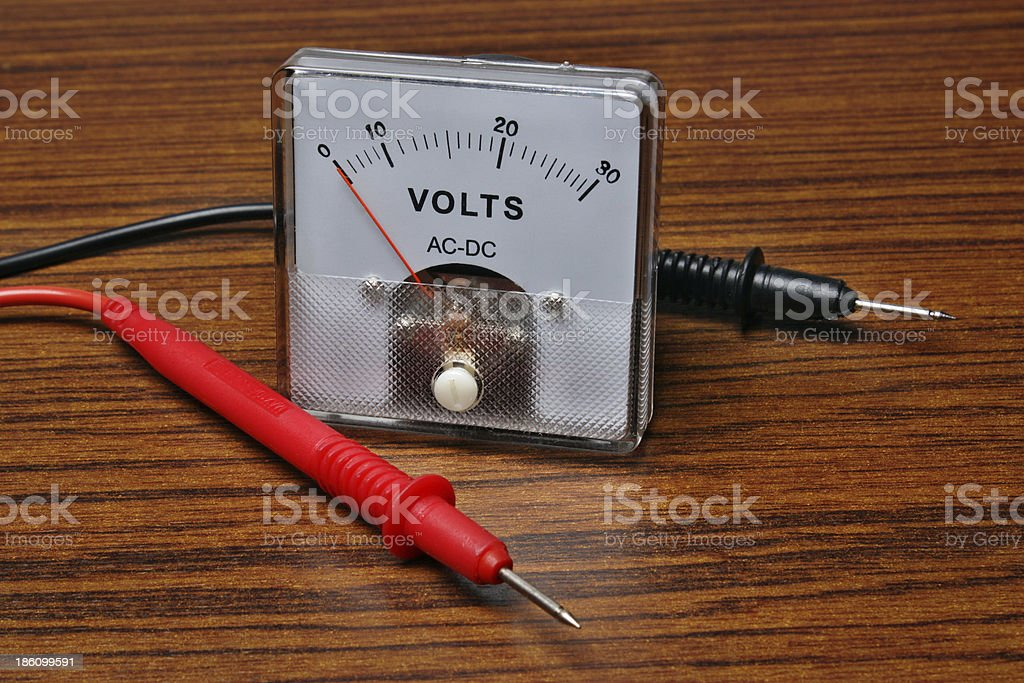 Analog display royalty-free stock photo