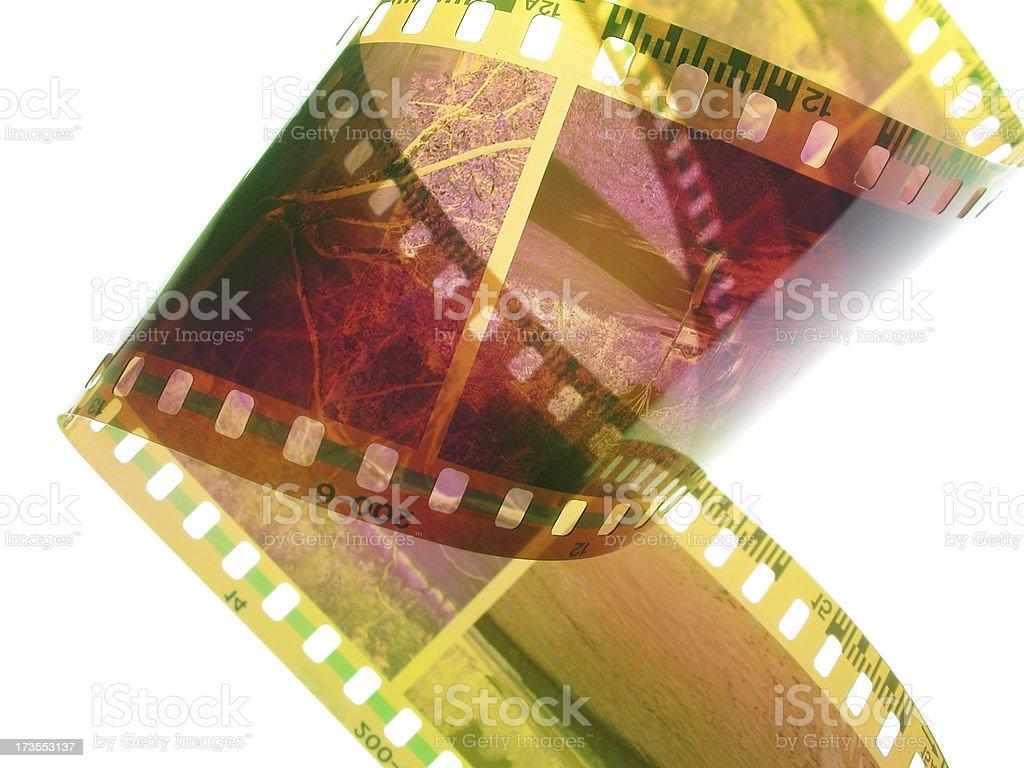 Analog Filmstrip stock photo