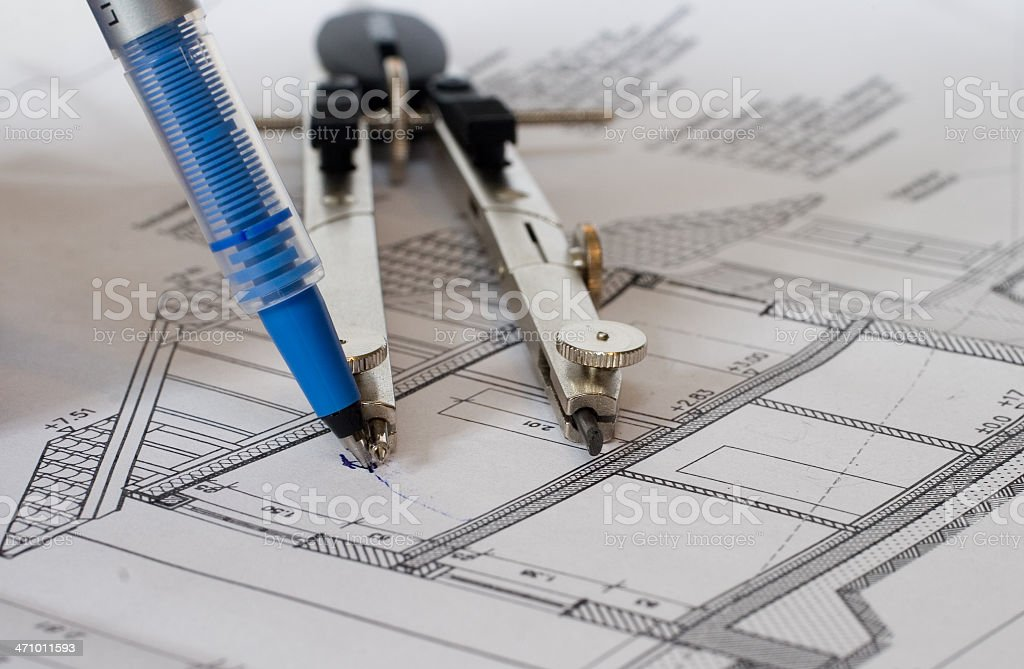 analog planning royalty-free stock photo