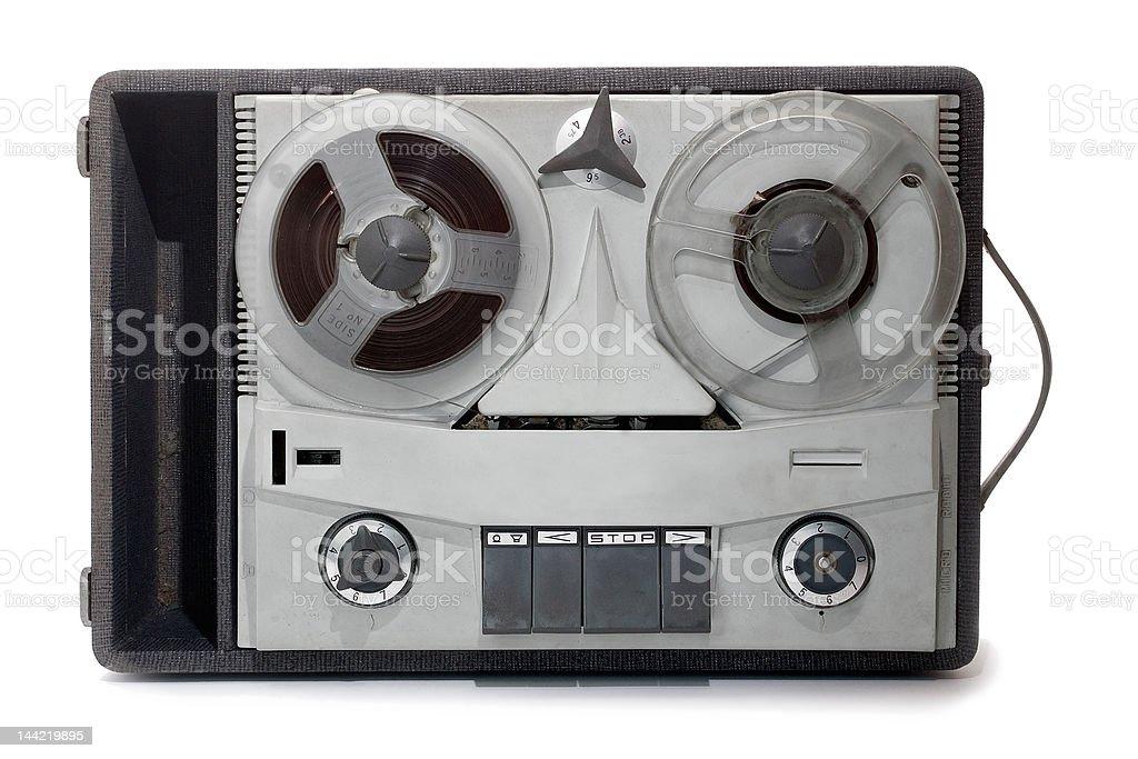 analog recorder stock photo