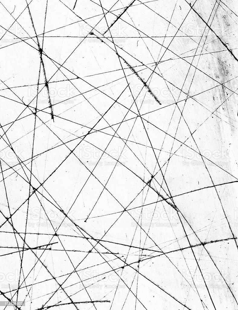 Analog scratches stock photo