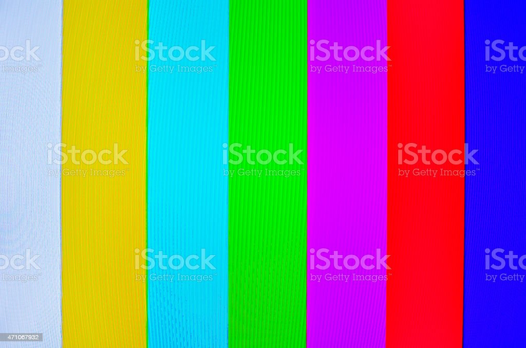 Analog TV Pattern. stock photo