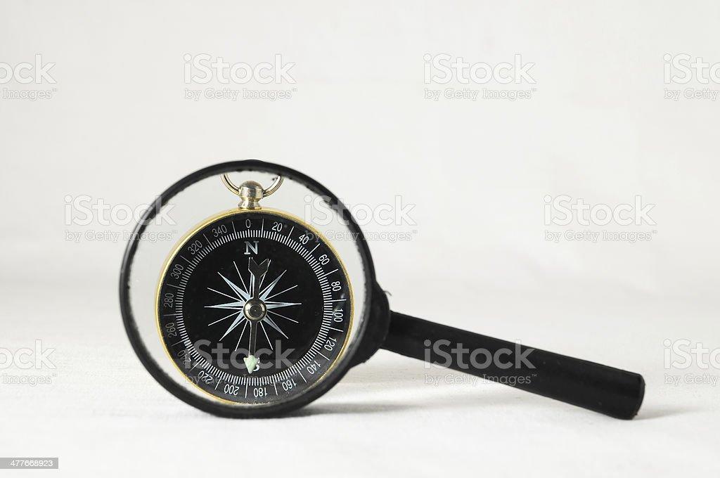 Analogic Compass royalty-free stock photo