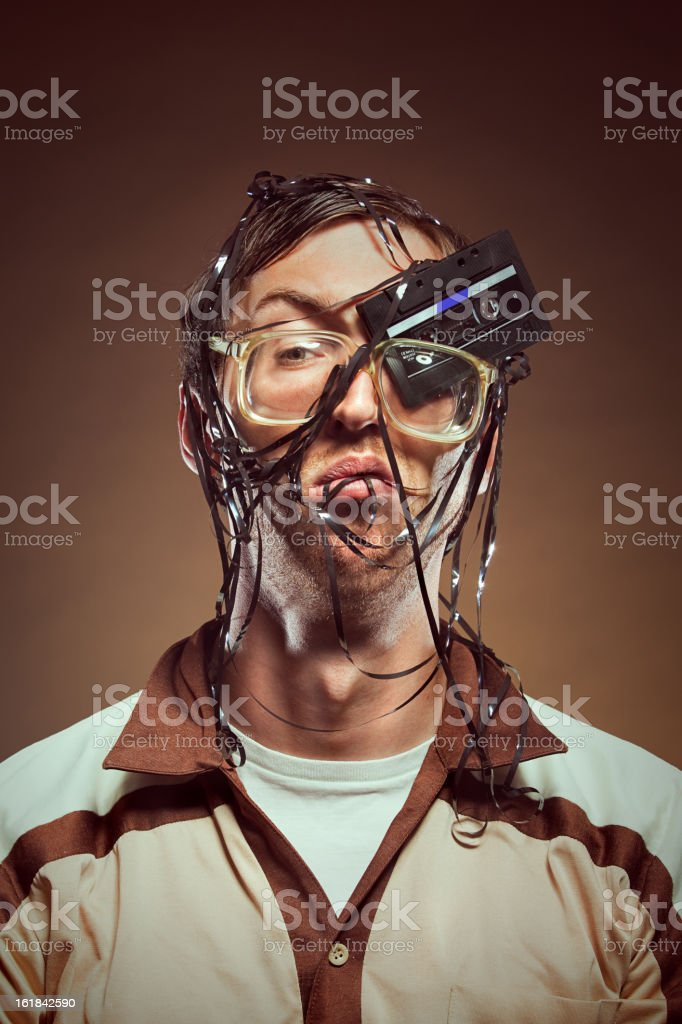 Analogue Accident stock photo