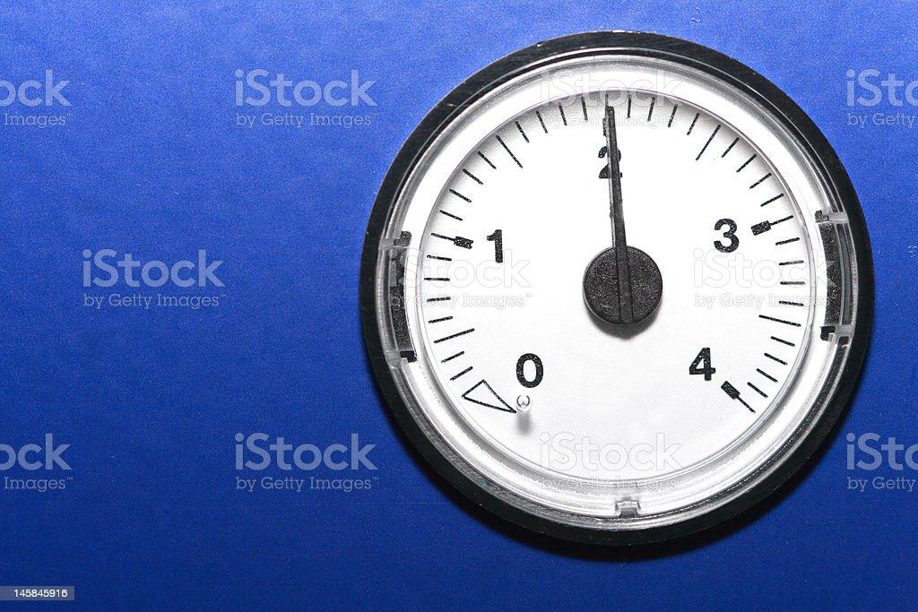 analogue gauge stock photo