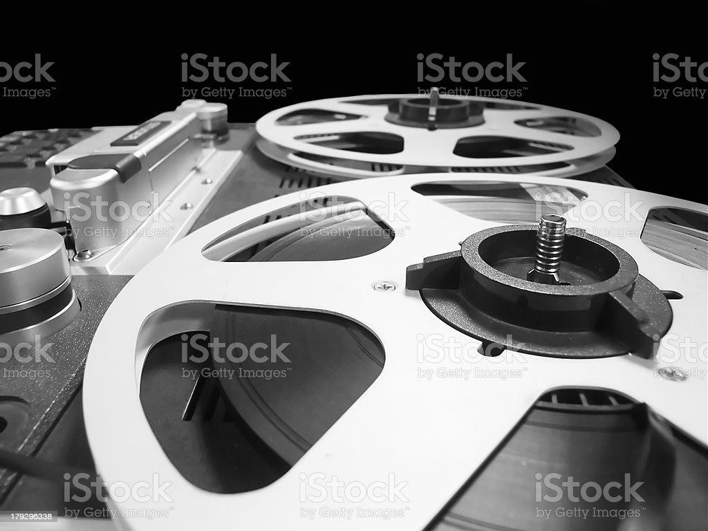 analogue sound editing royalty-free stock photo