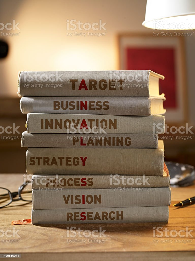 Analysis Books royalty-free stock photo