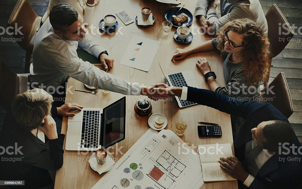 Analysis Business Brainstorming Corporate Smart Concept stock photo