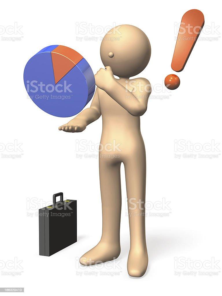 Analysis of data royalty-free stock photo