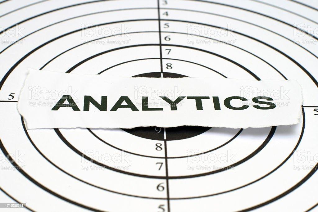 Analytics royalty-free stock photo