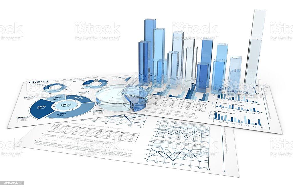 Analyze. stock photo