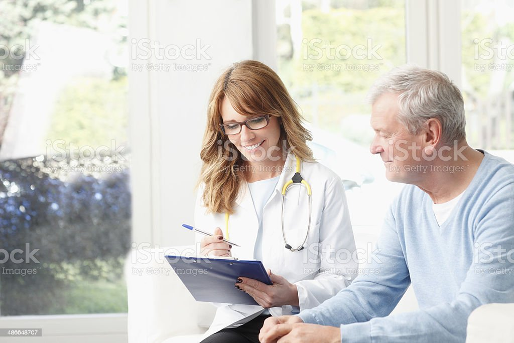 Analyzing x-ray stock photo