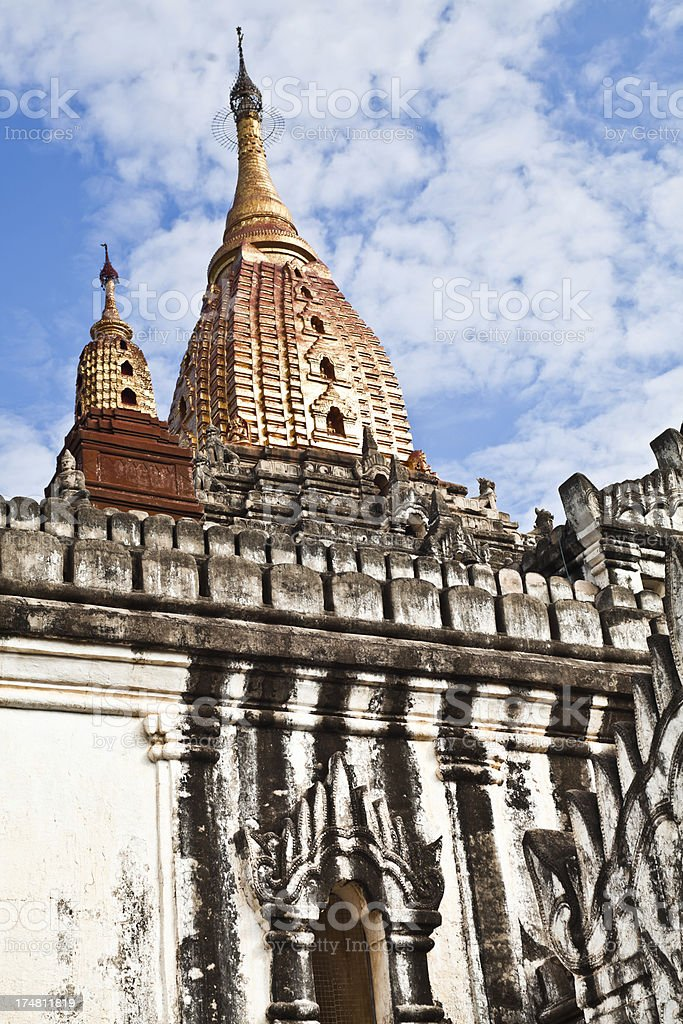 Ananda Phaya Temple in Bagan, Myanmar royalty-free stock photo
