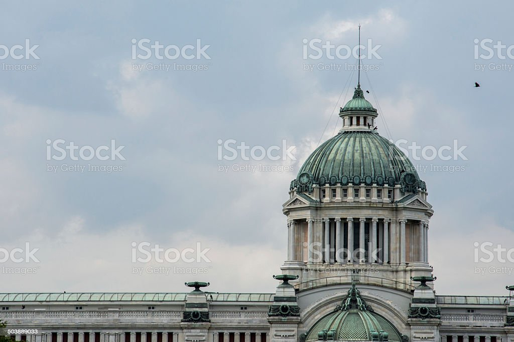 Ananda Samakhom Throne Hall stock photo