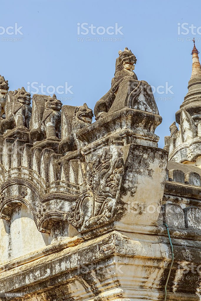 Ananda Temple royalty-free stock photo