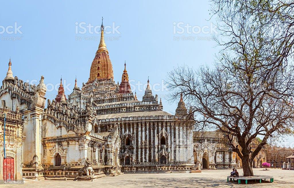 Ananda Temple stock photo