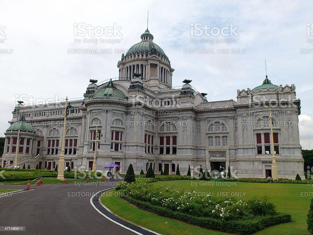 Ananta Samakhom Throne Hall in Bangkok stock photo