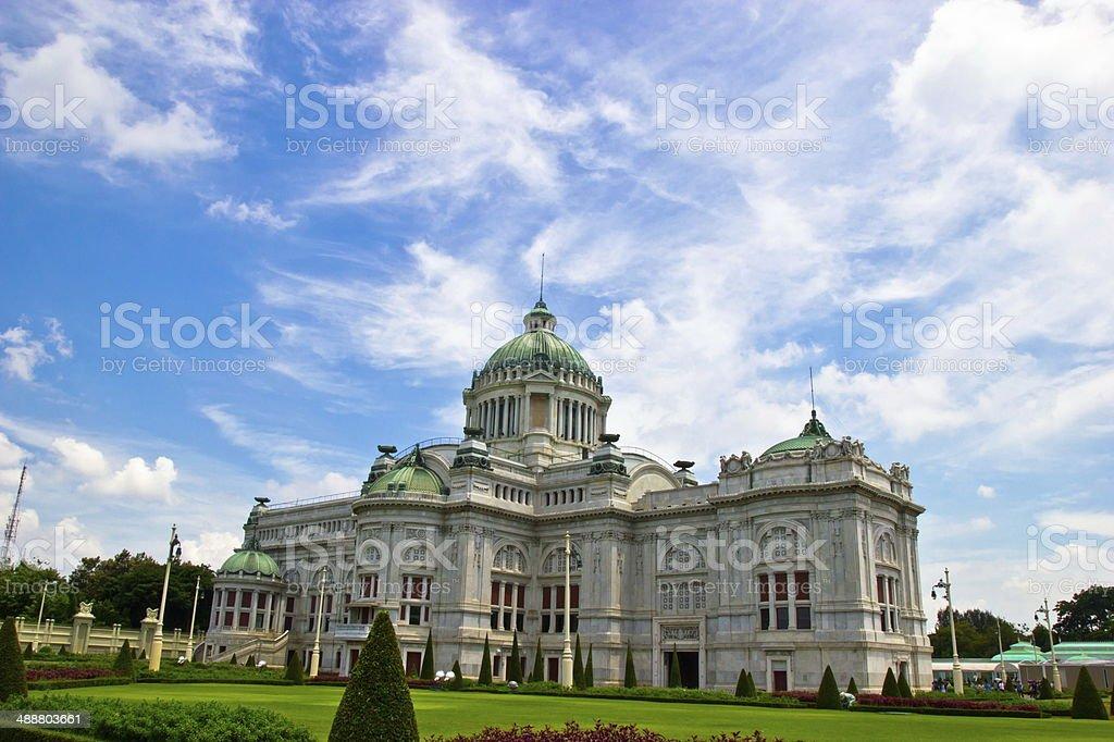 Ananta Samakhom Throne Hall In Dusit Palace ,Bangkok stock photo