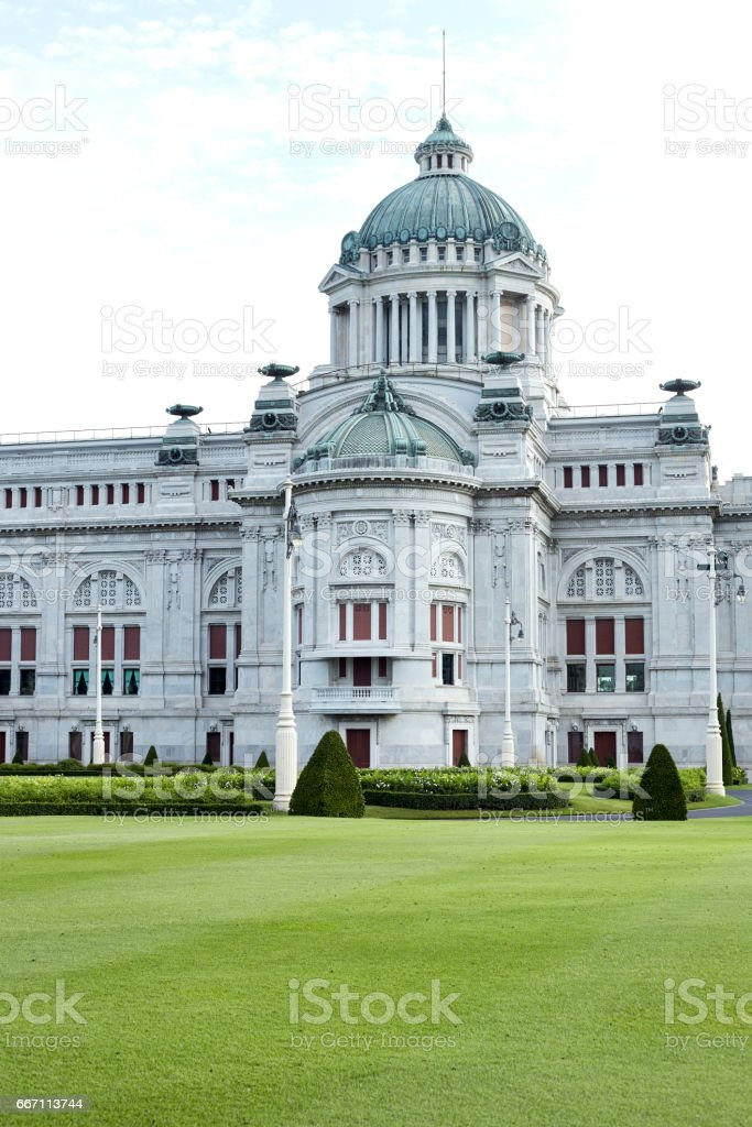 Anantasamakhom Throne Hall in Bangkok stock photo