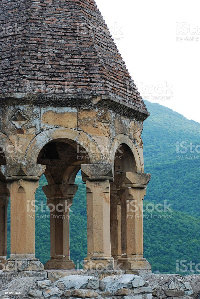 Ananuri Church royalty-free stock photo