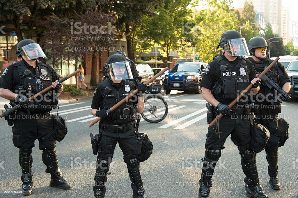 Anarchists stock photo