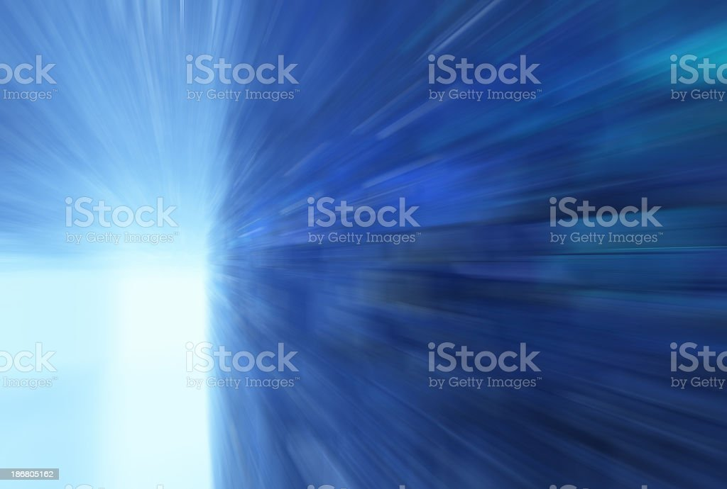 Anarchitectural rush stock photo
