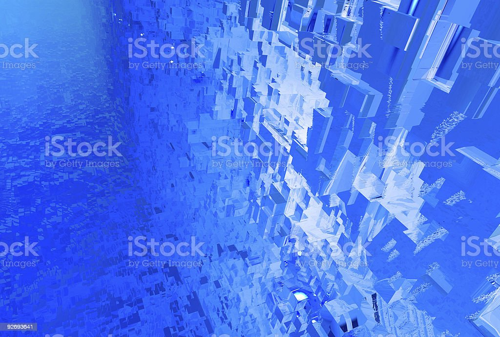 Anarchitectural tunneloid 07 royalty-free stock photo