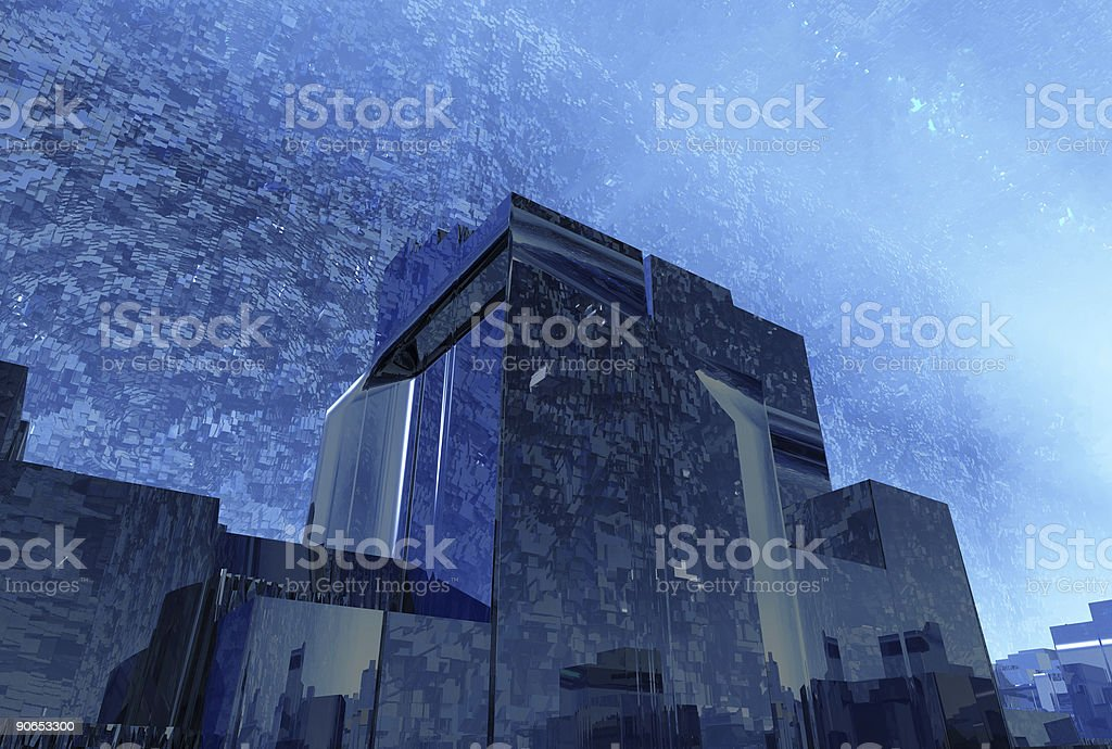 anarchitectural tunneloid03 royalty-free stock photo