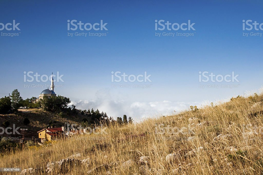 Anatolian village royalty-free stock photo