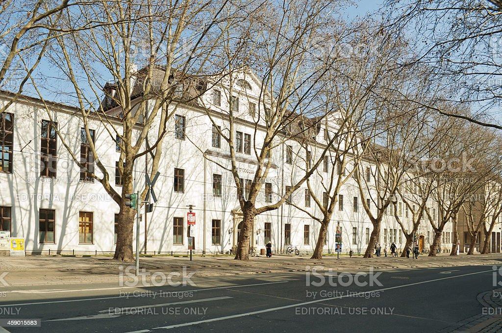 Anatomical Institut of Jena, Germany royalty-free stock photo