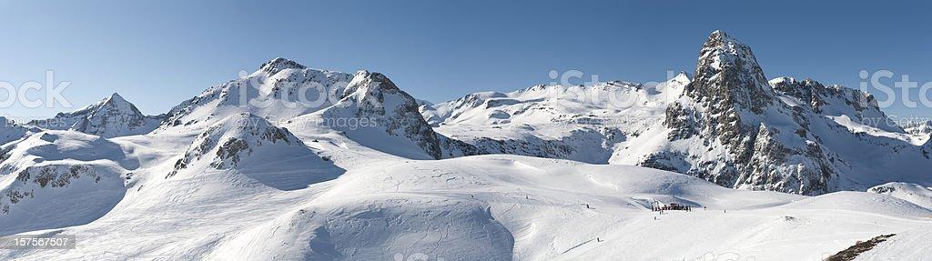 Anayet Peak royalty-free stock photo