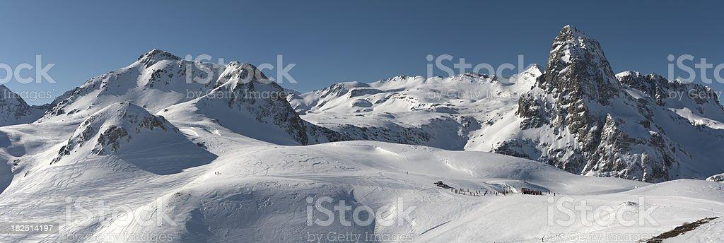 Anayet Peak (Pyrenees) royalty-free stock photo
