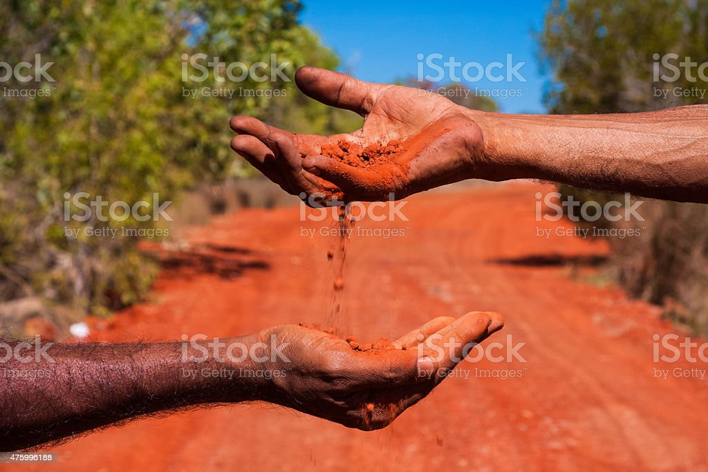 Ancestral Wisdom, Australia stock photo