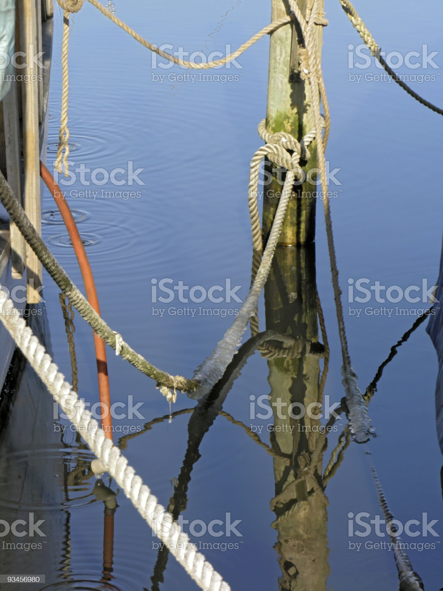 Ancher Buoy royalty-free stock photo