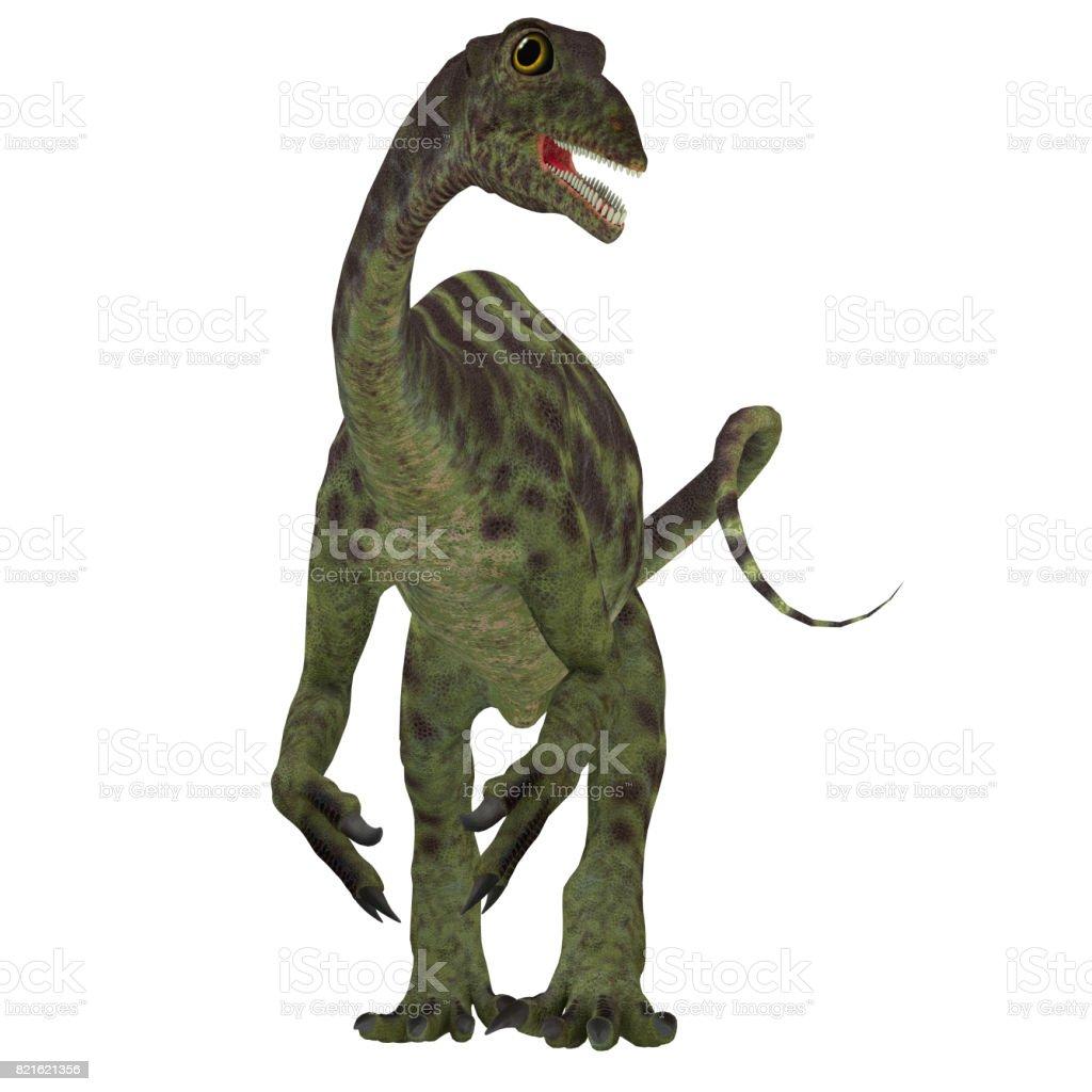Anchisaurus Jurassic Dinosaur stock photo