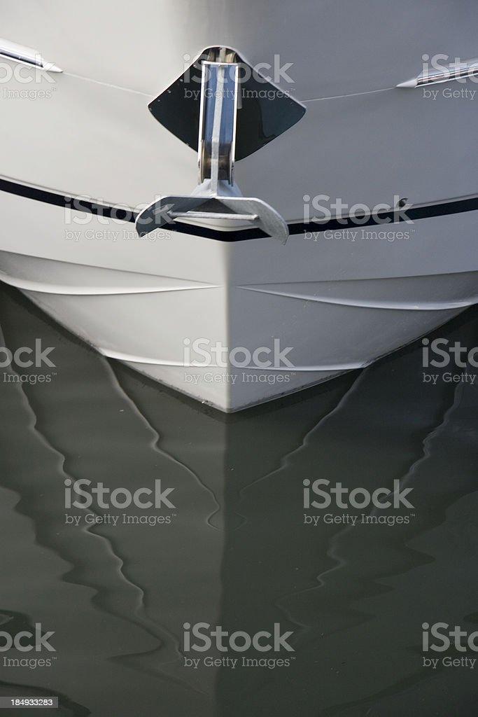 Anchor boat royalty-free stock photo