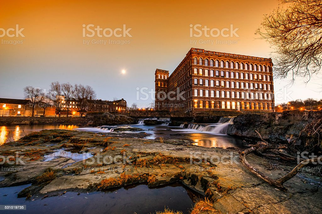 Anchor Mills, Paisley stock photo